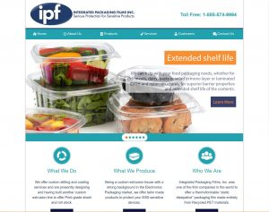 Integrated Packaging Film website