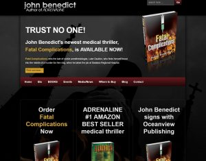 John Benedict MD - Author website