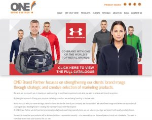 ONE! Brand Partner (Alberta, Canada) website