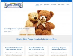 Power of HOPE London Chapter website