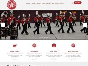 Scouthouse Band Website