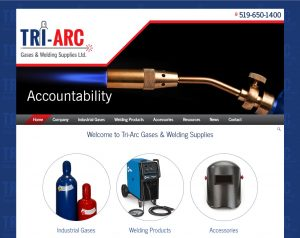Tri-Arc Gases website