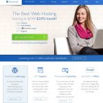 Choosing a web host - BlueHost