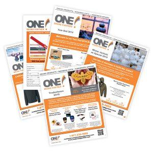 ONE Brand Partner Folded Brochures