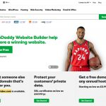 Choosing a web host - GoDaddy