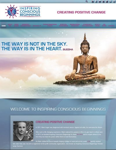 Inspiring Conscious Beginnings website