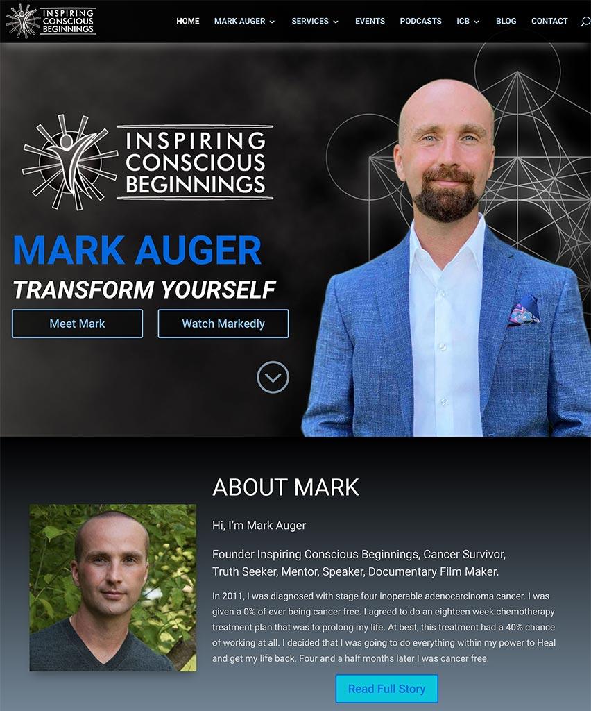 Mark Auger: Inspiring Conscious Beginnings